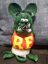 "Dune Rat Fink Dark Green limited color Soft Vinyl Figure Japan 7.8"" NEW 555 - $149.99"