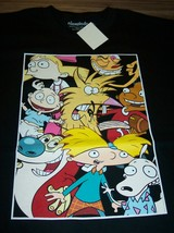 Nickelodeon Ren & Stimpy Angry Beavers Hey Arnold Thornberry's T-Shirt Small - $19.80