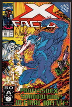 X-Factor #69 SIGNED by Whilce Portacio Cover and Art / Marvel Comics - X-Men - $19.79