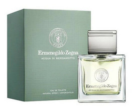 Acqua Di Bergamotto By Ermenegildo Zegna Eau De Toilette Spray Cologne 3.4oz Nib - $70.50