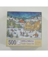 "Bits and Pieces 500 Piece Puzzle Let It Snow 16"" x 20"" SEALED - $20.56"