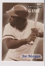 1998 Fleer / SI Legends Joe Morgan card, Cincinnati Reds HOF - $0.99