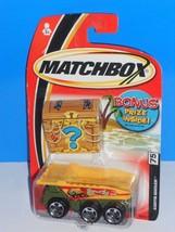 Matchbox 2004 Treasure Bonus Prize Package #75 Earth Mover Dump Truck Green - $3.00