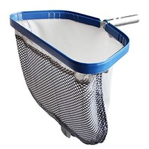 POOLWHALE Pool Leaf Rake with Double Layer Deep-Bag, Professional Skimme... - $31.37