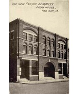 Beardsley Opera House Red Oak Iowa 1910 postcard - $6.93