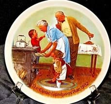 1982 The Csatari Grandparent Plate  AA20-CP2283 Vintage - $59.95
