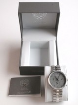 Vince Camuto VC/1098GYSV Men's  Stainless Steel Watch * preowned * image 2