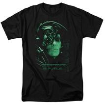 Borg t-shirt Star Trek Resistance is Futile humanoid retro sci-fi series CBS515 image 1