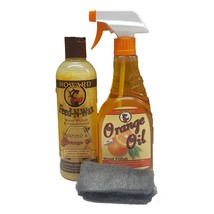 Howard Feed-N-Wax Wood Preserver 16 Ounce and Howard Orange Oil Restorat... - $26.50