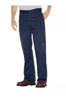 NEW DICKIES Size 28x32 Men's Blue Loose Fit Double Knee Work Pants - $25.00
