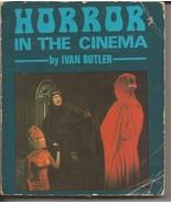 Horror In The Cinema Paperback Ivan Butler Monsters Vampires Creatures M... - $14.95