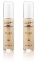 (2-Pack) ALMAY Clear Complexion Liquid Makeup, Warm 700 - 1 fl. Oz (30 ml) - $29.99