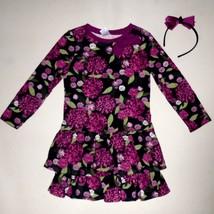 Gymboree Girls Floral Dress Headband Size 4 NWT - $20.00