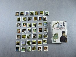 Itsy Bitsy Impressionist Refrigerator Magnets Set Of 43 In Clear Acrylic... - $12.86