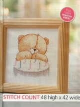 MAKE A WISH BEAR  CROSS STITCH PATTERN    EQ - ESQ - $6.39
