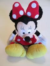 Disney Polyester Plush Mini Mouse Red & White Polka Dot Dress & Matching... - $15.99
