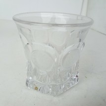 Eagle Coin Design Clear Old Fashion Glass 3.5-Inch Tall - $17.09