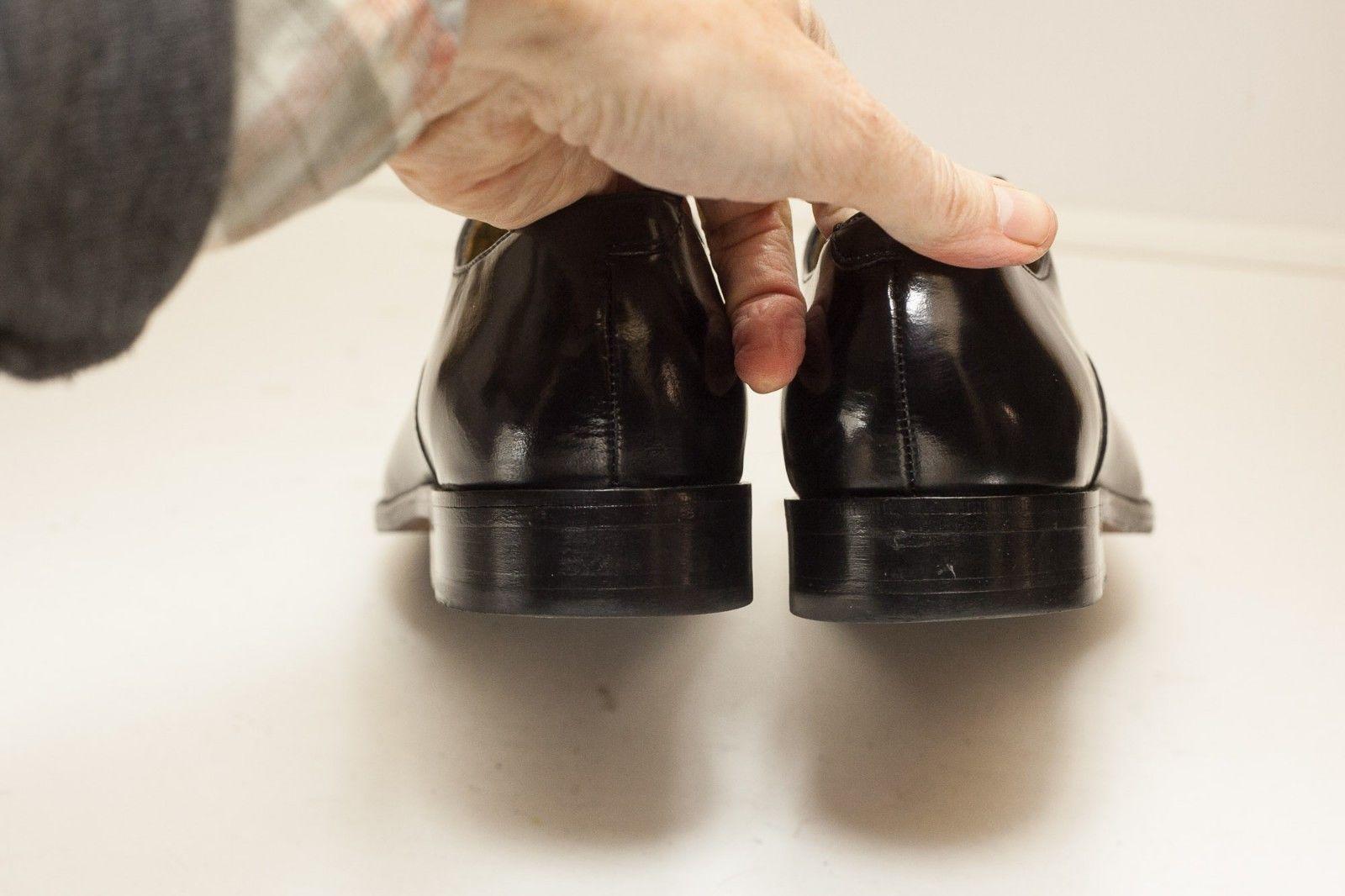 Cole Haan Size 7.5 Black Oxford Captoe Men's