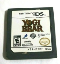 Yogi Bear Nintendo DS 2010 Game Only No Case image 1