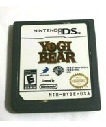 Yogi Bear Nintendo DS 2010 Game Only No Case - $8.88