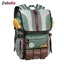 Travel Backpacks Star Wars Boba Fett Laptop Backpack great quality - $64.99+