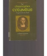Christopher Columbus; navigator to the New World, (Immortals of history)... - $41.15