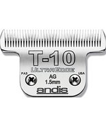 Andis Carbon-Infused Steel UltraEdge Dog Clipper Blade, Size-T-10, 1/6-I... - $34.81