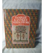 Sampler & Antique Needlework: A Year in Stitches (Volume II) - $25.95