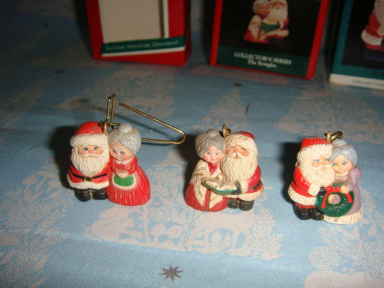 Hallmark Miniature The Kringles 1989, 1992 & 1993 Lot Of 3 Series Ornaments image 4