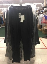 Alpha Omega Ruffle Pants Black - NWT - $25.99