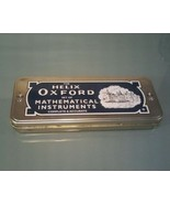 Helix Oxford Mathematical Instrument Partial Set in Tin Box - $8.90