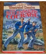 The Young Collector's Illustrated Classics The Red Badge Of Courage hardcover - $3.95