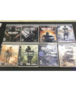 8 GAMES PS3 CALL OF DUTY COLLECTION - BLACK OPS 1, 2,3 - MODERN WARFARE ... - $88.11