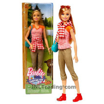 "NEW Barbie Camping Fun 12"" Doll FGC94 Pink Shirt/Brown Capris/Purse/Sung... - $32.99"