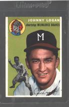 1954 Topps #122 Johnny Logan Braves Ex/Mt Centered! - $10.70