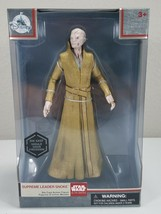 Star Wars Elite Series - Supreme Leader Snoke - Die Cast Action Figure - $10.00