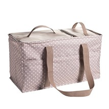 Large Utility Tote Bag With Handles, 2 Zippered Coolers, Heavy Duty Fabr... - €41,09 EUR