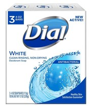 Dial Antibacterial Deodorant Soap, White, 4 Ounce, 9 Bars - $12.90