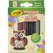 Crayola Modeling Clay .6oz 8/Pkg Natural - $6.51