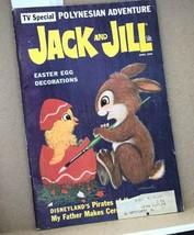 Jack and Jill Magazine w Center April 1969 Disneyland's Pirates of the C... - $9.89