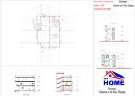 Modern House Building ,Custom Home Design PDF And AutoCAD - $19.79