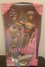 Vintage 1995 JEWEL HAIR MERMAID Long Blond Hair to the floor Barbie Doll... - $76.93