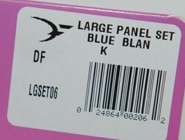 Destron Fearing DuFlex Visual Livestock Id Panel Tags Large Blue Blank 25 Sets image 7