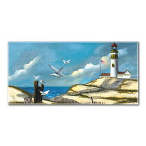 Song of the Sea Gulls Beach Towel - $25.99