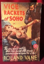 VICE RACKETS OF SOHO by Roland Vane - 1st American. Reginald Heade cover. - $735.00