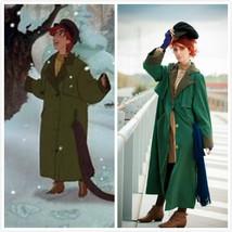 Anastasia Anya orphanage costume female for adult Anya orphanage coat - $129.00