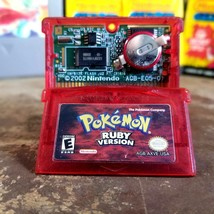 Authentic - Pokémon: Ruby Version (Nintendo Game Boy Advance) Working Ba... - $23.38