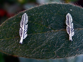 Haunted Magick Feather Earrings for ADVANCED psychic abilities - $22.22