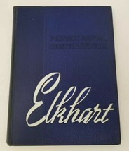 Elkhart High School Yearbook Pennant Annual 1954 Indiana FREE SHIPPING - $30.48