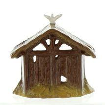 Hagen Renaker Specialty Nativity Manger with Dove Ceramic Figurine image 9